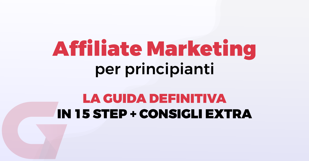 Affiliate marketing per principianti