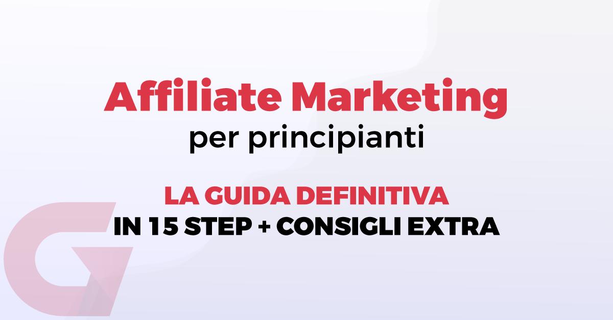 Affiliate marketing per principianti
