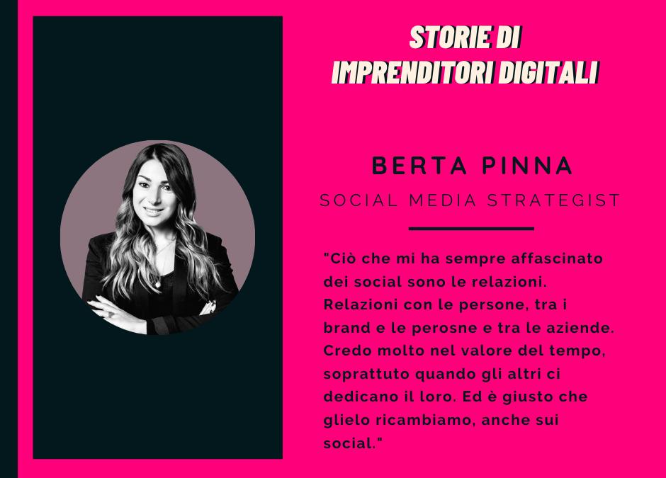Berta Pinna – Social Media Strategist
