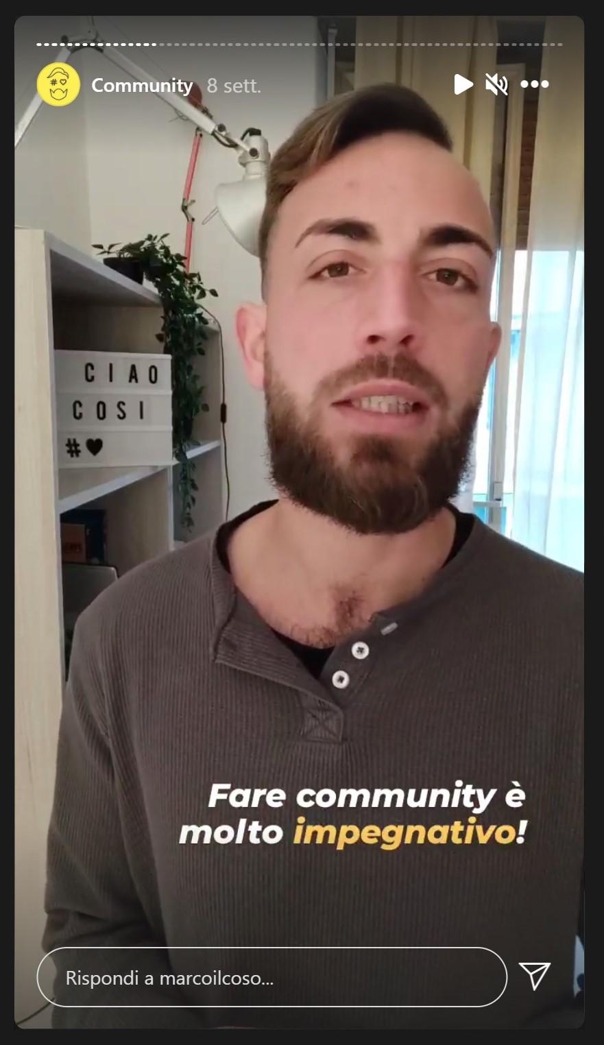 Marco Loris Raitano - Community